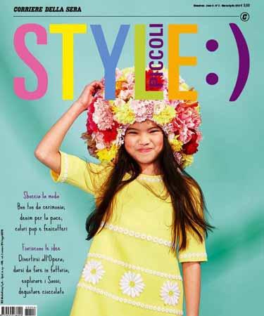 PK @ Aпрельский номер итальянского журнала Style Piccoli