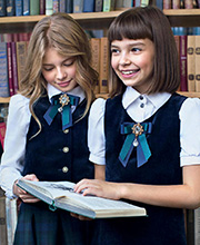 Модели агентства President Kids в фотосъёмках новой коллекции школьной формы Смена 2016